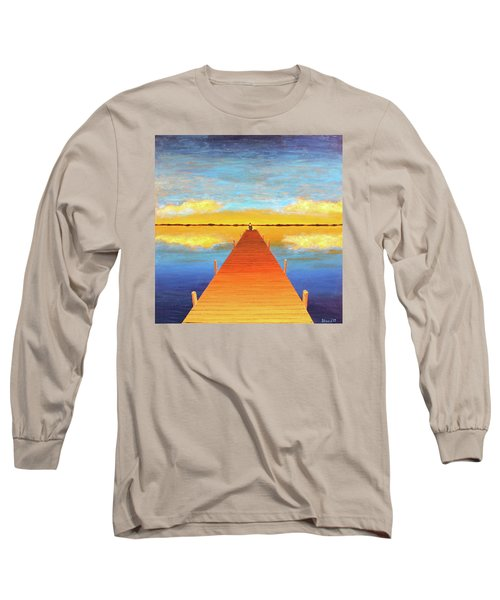 The Pier Long Sleeve T-Shirt by Thomas Blood