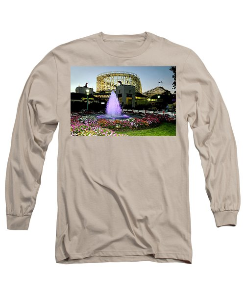 The Pink Fountain Long Sleeve T-Shirt