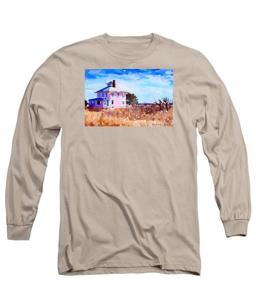 The Pink House, Newburyport, Ma. Long Sleeve T-Shirt