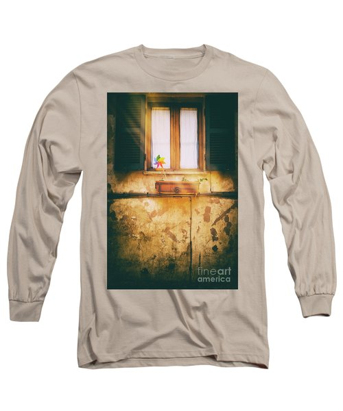 Long Sleeve T-Shirt featuring the photograph The Pinwheel by Silvia Ganora