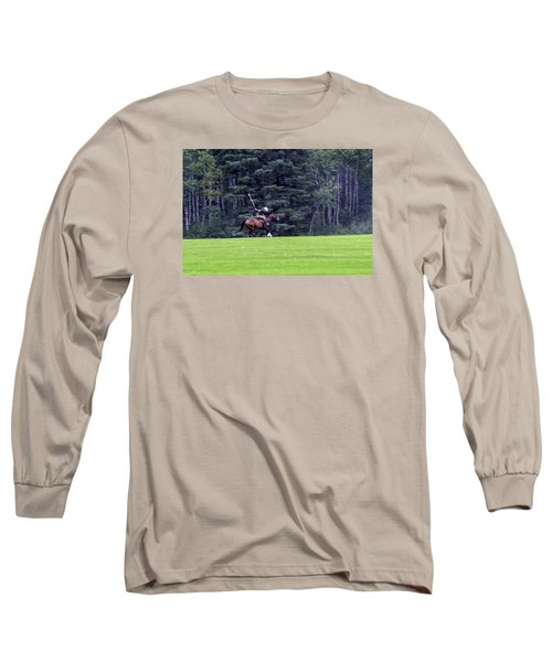 The Player Long Sleeve T-Shirt by Keith Armstrong