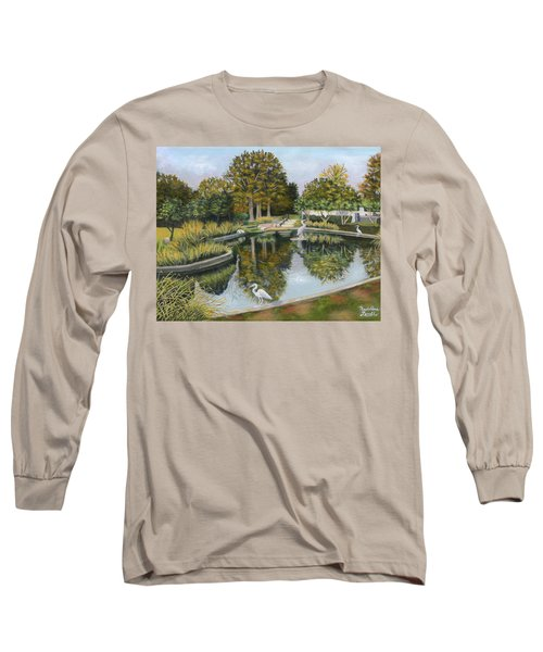 The Pond At Maple Grove Long Sleeve T-Shirt