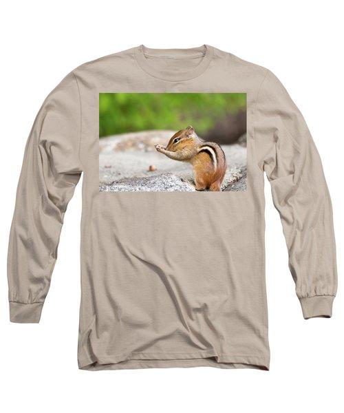 The Praying Chipmunk Long Sleeve T-Shirt