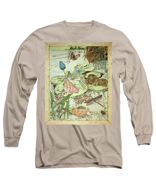 The Princess And The Frogs Long Sleeve T-Shirt