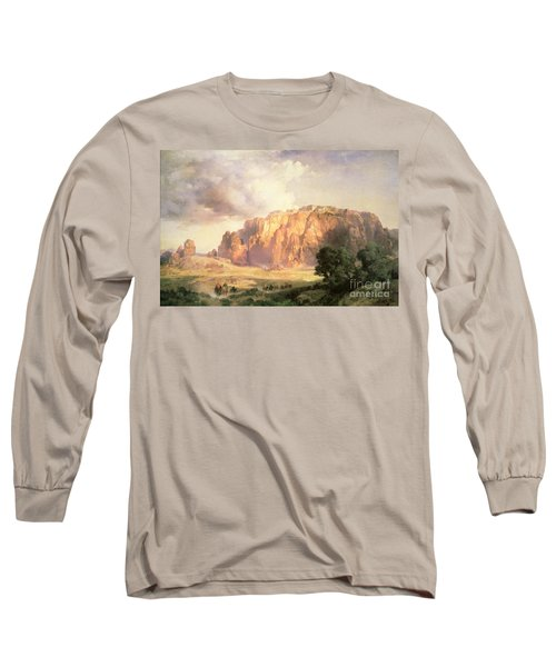The Pueblo Of Acoma In New Mexico Long Sleeve T-Shirt