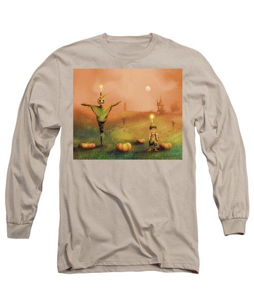 The Pumpkin Thief Long Sleeve T-Shirt