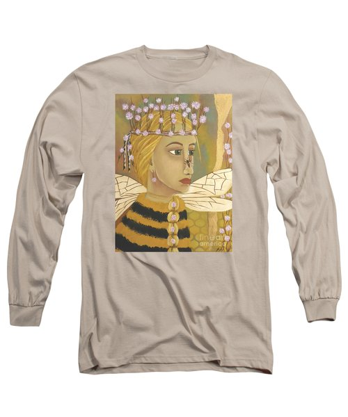 The Queen Bee's Honeycomb Long Sleeve T-Shirt