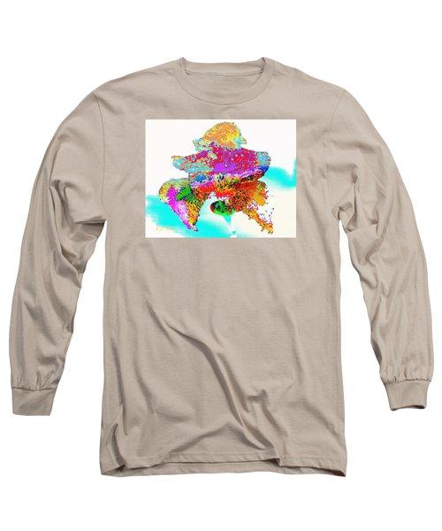 The Rainbow Iris Long Sleeve T-Shirt