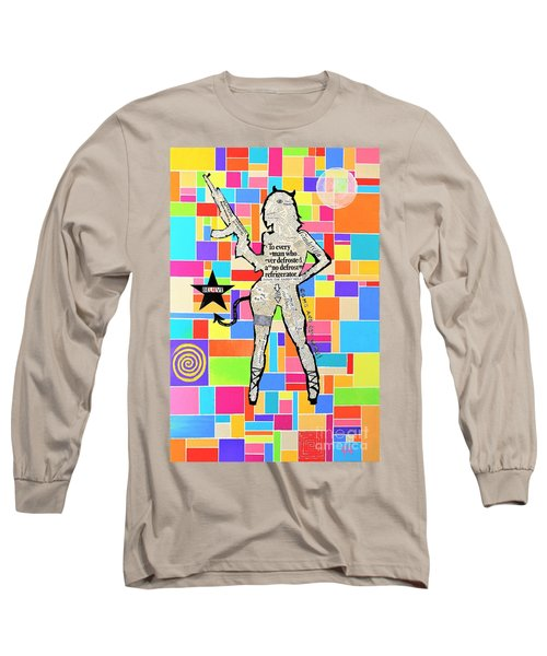 The Rebel Long Sleeve T-Shirt by Jeremy Aiyadurai