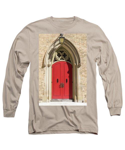 The Red Church Door. Long Sleeve T-Shirt