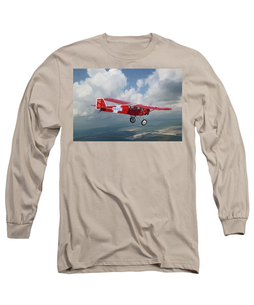 The Red Red Robin Long Sleeve T-Shirt