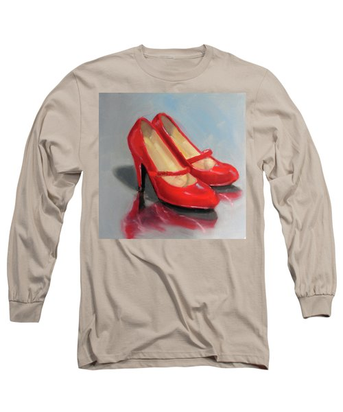 The Red Shoes Long Sleeve T-Shirt