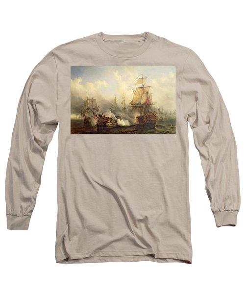 Unknown Title Sea Battle Long Sleeve T-Shirt