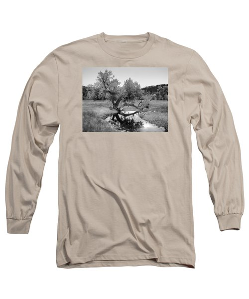 Eye Of The Stream Long Sleeve T-Shirt