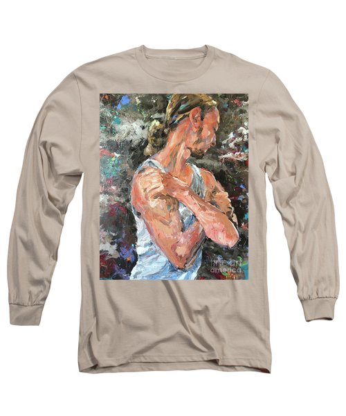 The Reflective Pause Long Sleeve T-Shirt by Diane Daigle