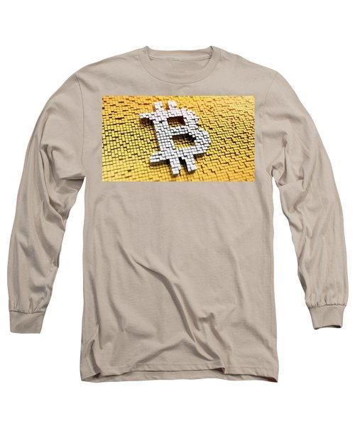 The Rise And Rise Of Bitcoin Long Sleeve T-Shirt
