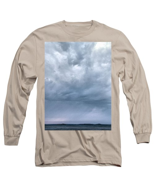 Long Sleeve T-Shirt featuring the photograph The Rising Storm by Jouko Lehto