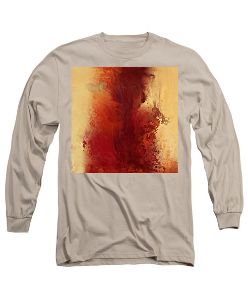 The Road To Emmaus. Luke 24 32 Long Sleeve T-Shirt by Mark Lawrence