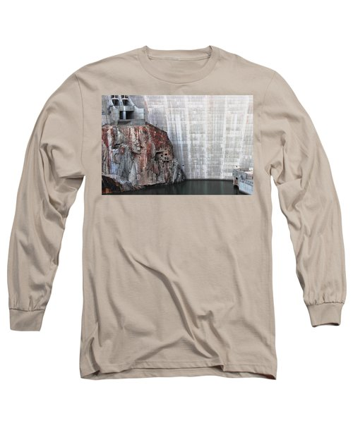 The Rock Behind The Dam Long Sleeve T-Shirt