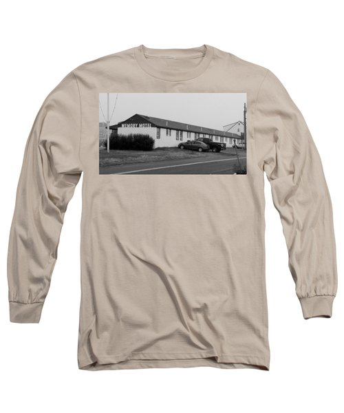 The Rolling Stones' Memory Motel Montauk New York Long Sleeve T-Shirt