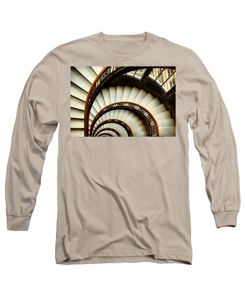 The Rookery Spiral Staircase Long Sleeve T-Shirt by Ely Arsha