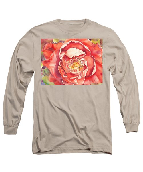 The Rose Long Sleeve T-Shirt by Mary Haley-Rocks