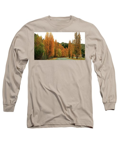 The Russet Tones Of Fall Long Sleeve T-Shirt