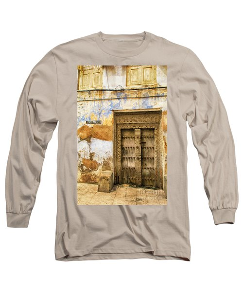 The Rustic Door Long Sleeve T-Shirt by Amyn Nasser