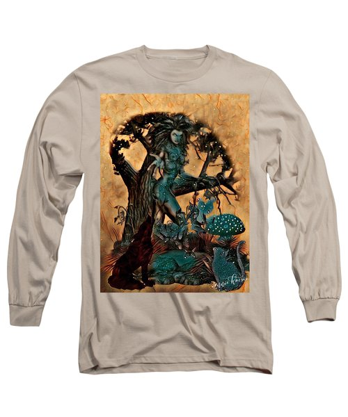 The Sacred Waters Long Sleeve T-Shirt by Vennie Kocsis