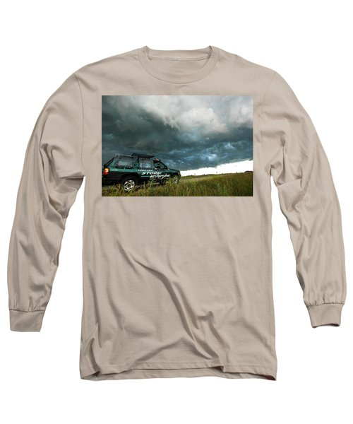 The Saskatchewan Whale's Mouth Long Sleeve T-Shirt by Ryan Crouse