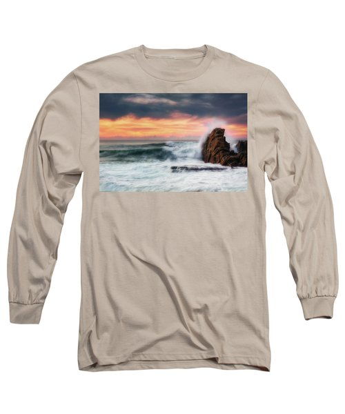 The Sea Against The Rock Long Sleeve T-Shirt
