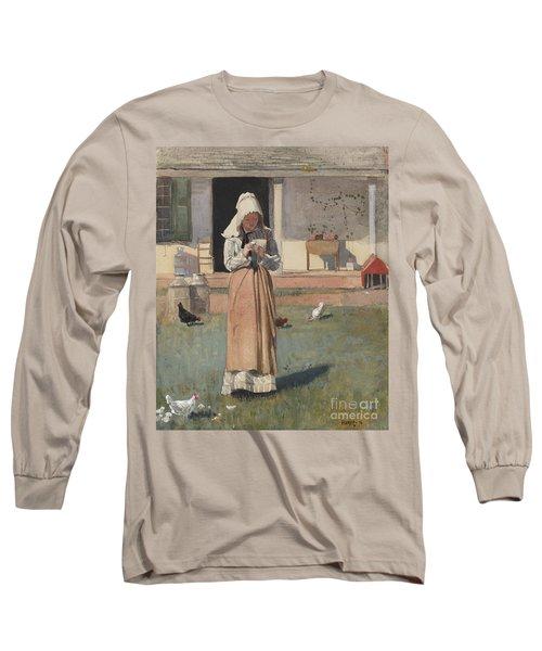 The Sick Chicken, 1874  Long Sleeve T-Shirt