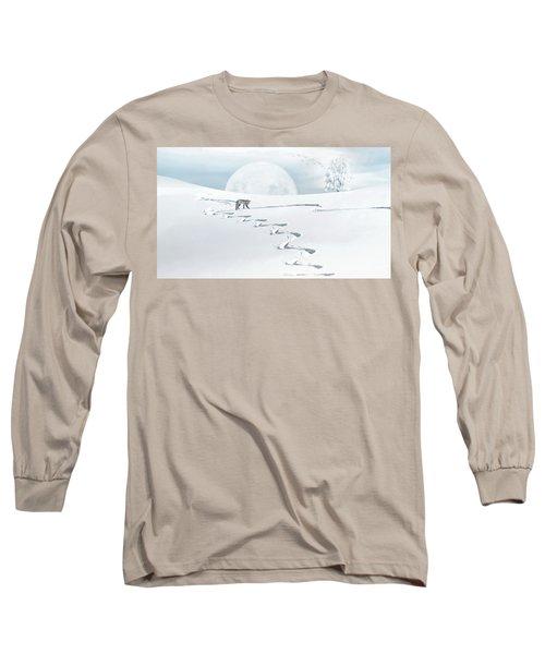 The Silver Fox Long Sleeve T-Shirt