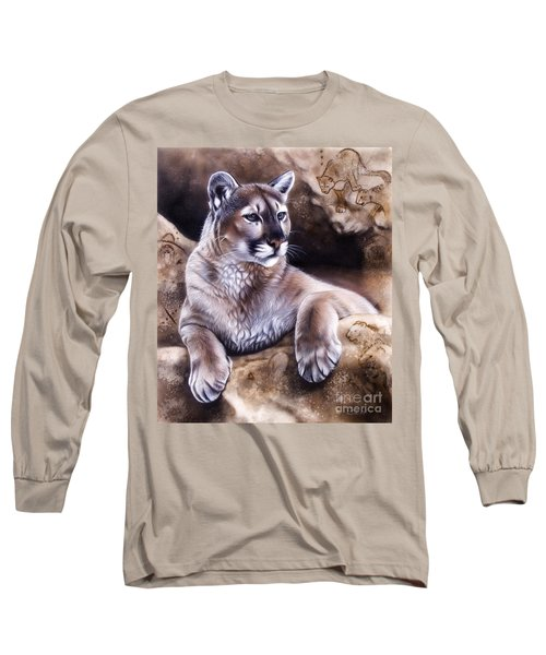 The Source Iv Long Sleeve T-Shirt by Sandi Baker