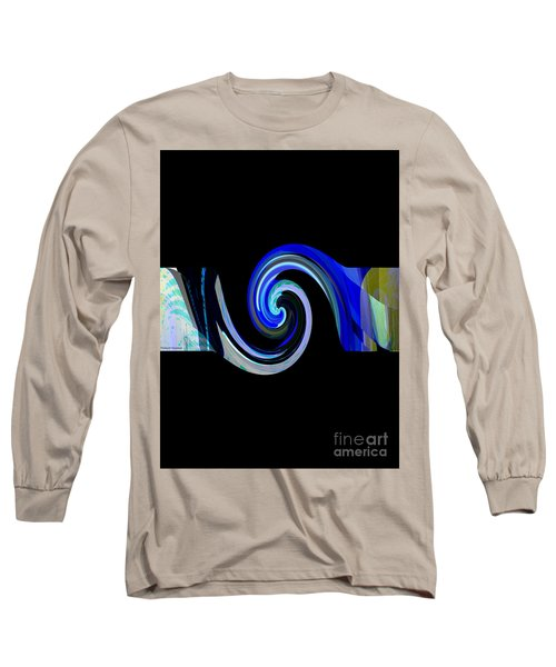 The Spiral Long Sleeve T-Shirt by Thibault Toussaint