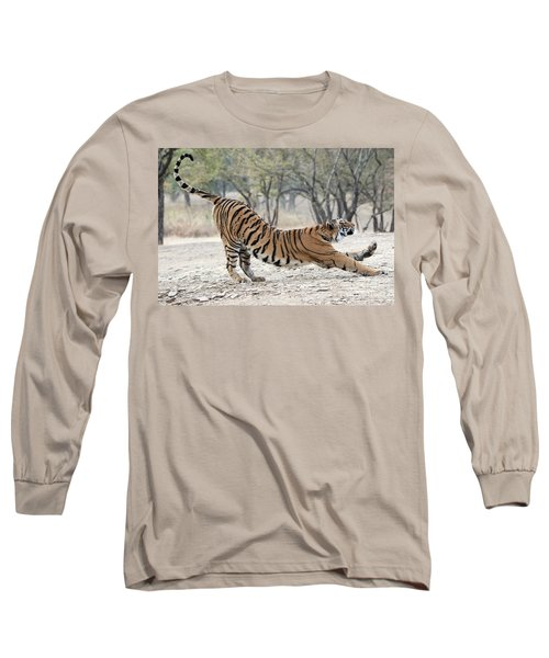 The Stretch Long Sleeve T-Shirt by Pravine Chester