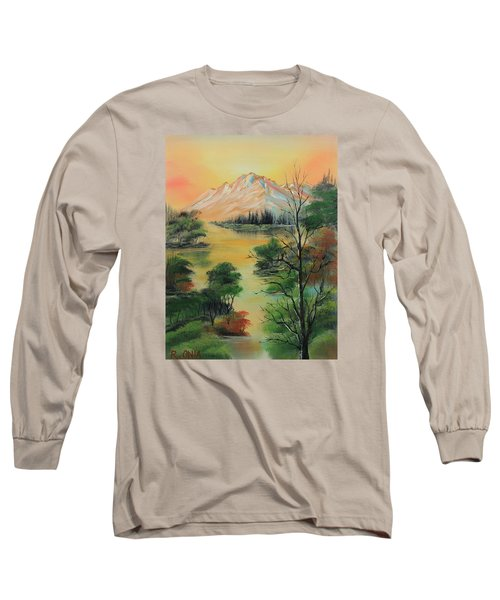The Swamp 2 Long Sleeve T-Shirt by Remegio Onia