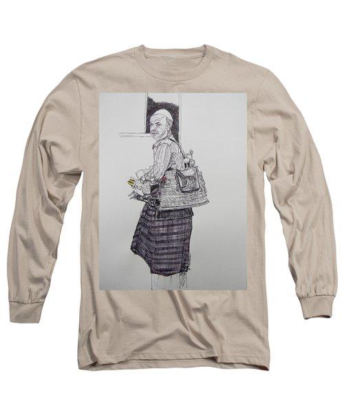 The Tea Man The Souss Vendor Long Sleeve T-Shirt