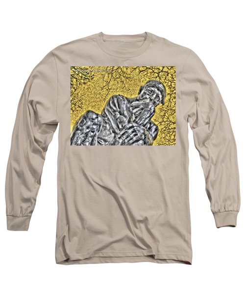 The Thinker - Study #1 Long Sleeve T-Shirt