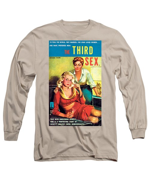 The Third Sex Long Sleeve T-Shirt by Robert Stanley