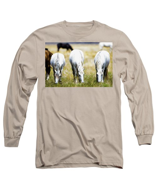 The Three Amigos Grazing Long Sleeve T-Shirt