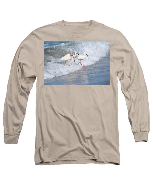 The Tide Of The Ibises Long Sleeve T-Shirt