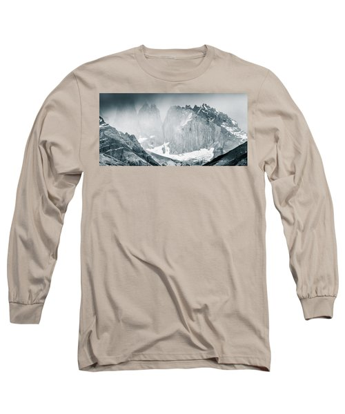 Long Sleeve T-Shirt featuring the photograph The Towers by Andrew Matwijec