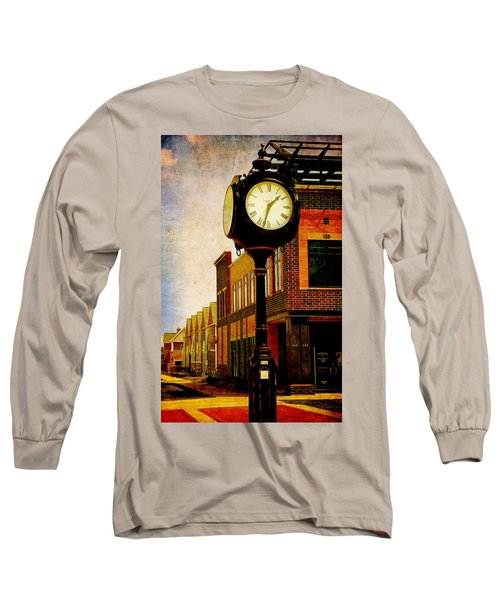 the Town Clock Long Sleeve T-Shirt