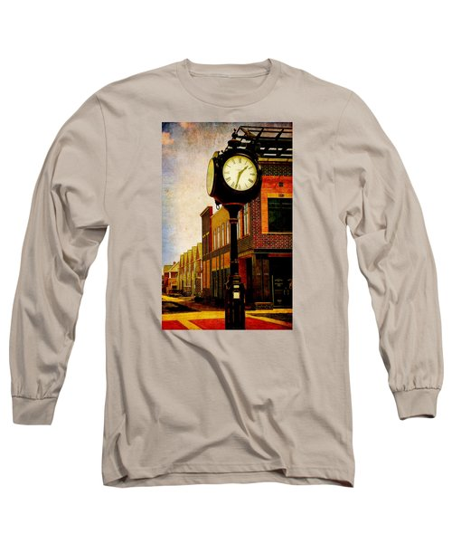 the Town Clock Long Sleeve T-Shirt