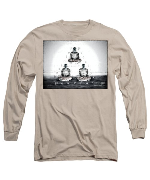 The Triangle Of Decision Long Sleeve T-Shirt