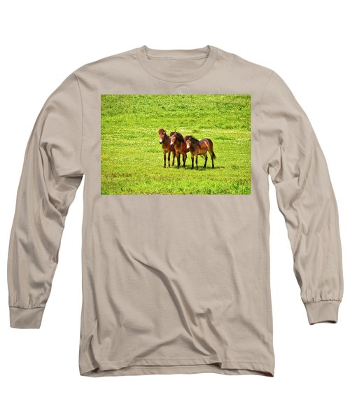 The Trio 1 Long Sleeve T-Shirt