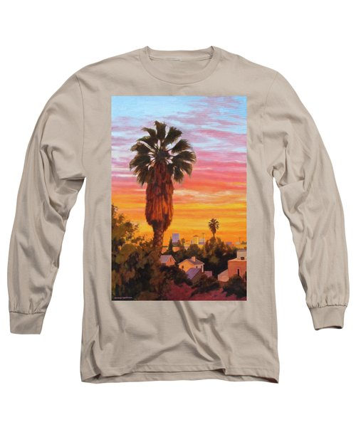 The Urban Jungle Long Sleeve T-Shirt by Andrew Danielsen