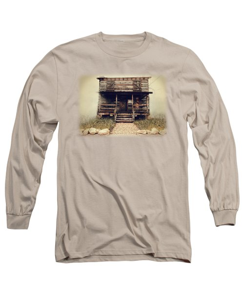 The Vann Cherokee Cabin Long Sleeve T-Shirt