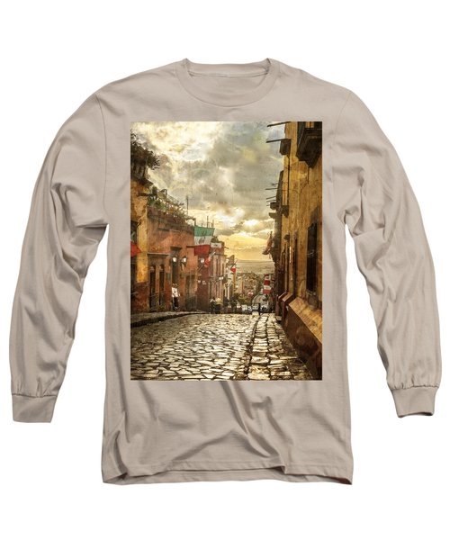 The View Looking Down Long Sleeve T-Shirt
